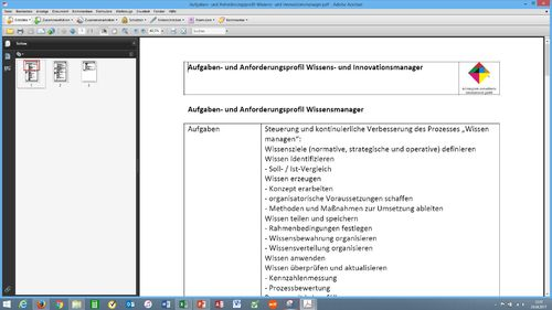 Checkliste Wissensmanagement