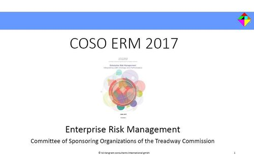 COSO Enterprise Risk Management 2017